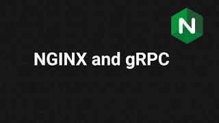 NGINX and gRPC