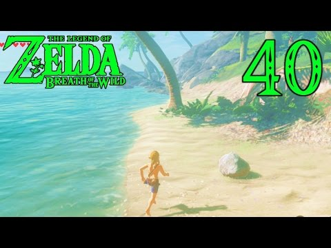 [40] Link's Tropical Island Adventure! (Let's Play Legend Of Zelda Breath Of The Wild)