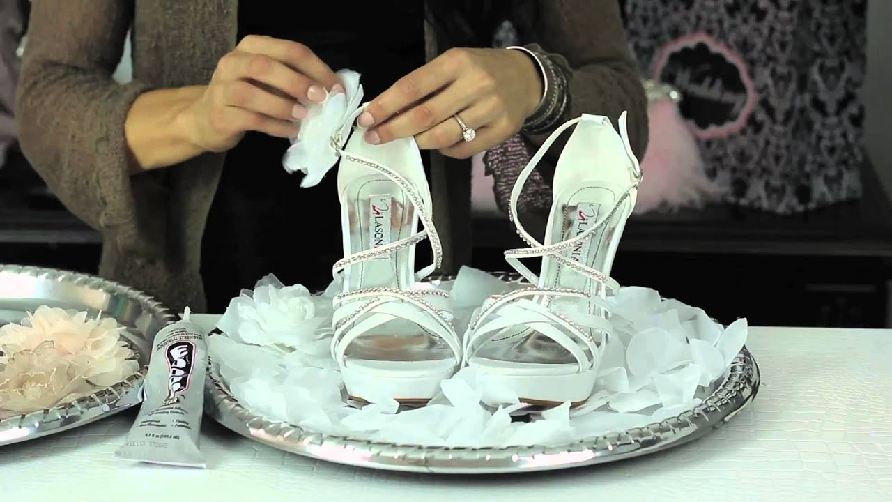 Subscribe Now: http://www.youtube.com/subscription_center?add_user=ehowbeauty Watch More: http://www.youtube.com/ehowbeauty Designing your own bridal shoe is...