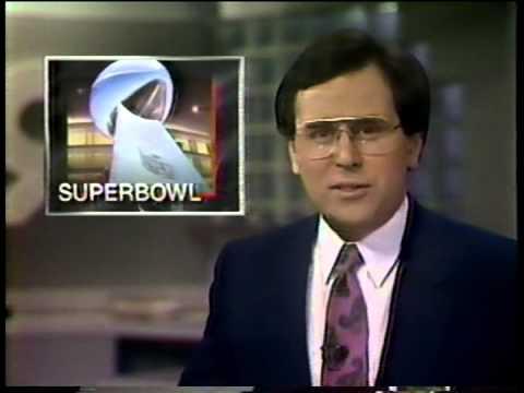 Superbowl XXII in San Diego, 1988