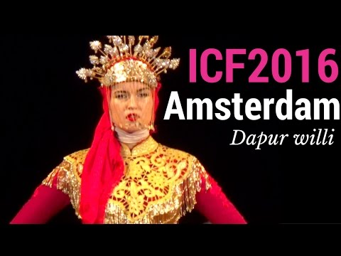 Indonesian Cultural Fashion 2016 Amsterdam (ICF2016) (English subtitle)