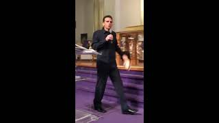 Fasting - Key to God's Power - Part 1 - Mt. Zion World Outreach, Spartanburg, SC