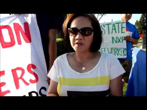 Global Day of Action for NXP Philippine Workers - July 02, 2014