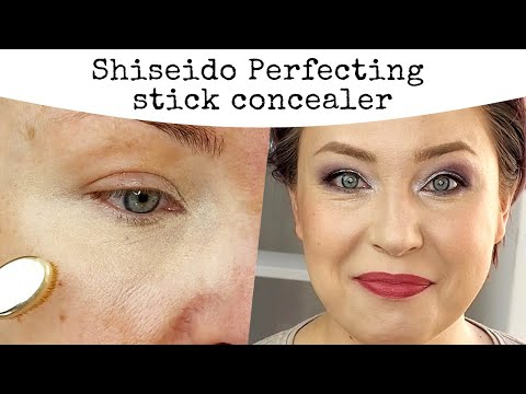 Shiseido Perfecting Stick Concealer | First Impression, Wear Test