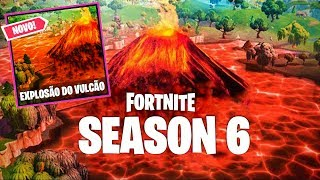 I won in the new secret mode of the volcano at Fortnite!
