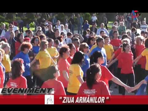 Flash Mob Ziua Aromânilor 23 mai 2017 si documentarul Bruxel