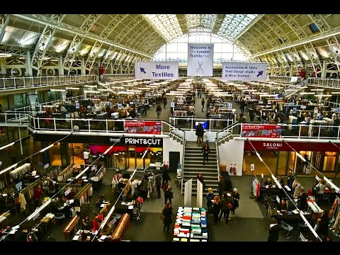 The London Textile Fair - January 2015