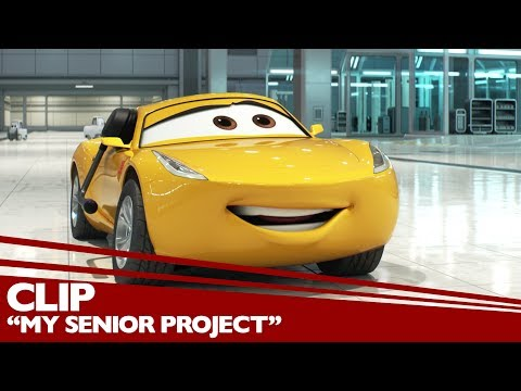 """My Senior Project"" Clip - Disney/Pixar's Cars 3 - Friday in 3D"