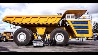 5 największych maszyn górniczych.