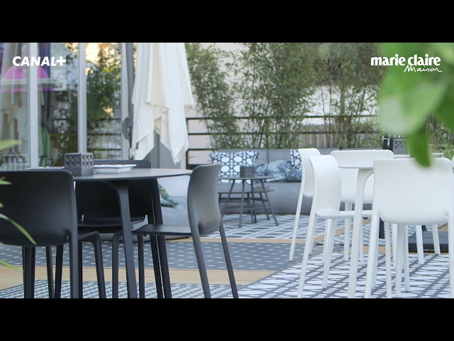 Patio Canal+ Garde-corps et jardinières aluminium KOSTUM by Cadiou