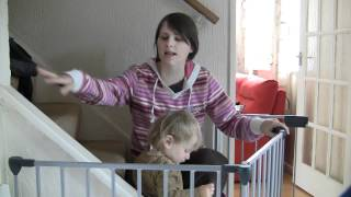 Babydan Configure Gate - Baby Safety Review Video - Reviewgear