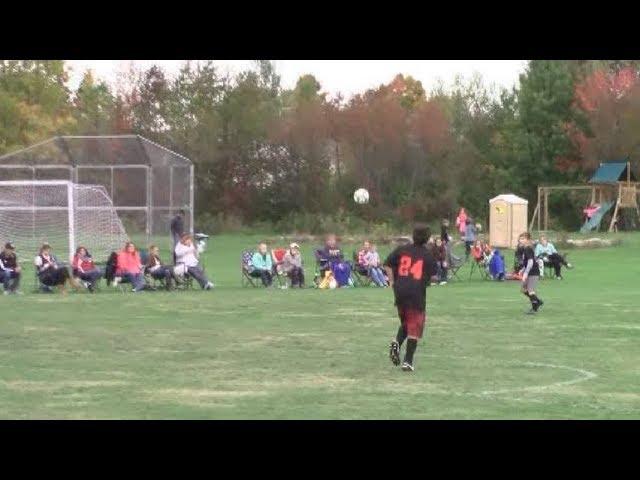 Champlain-Rouses Point - Ellenburg Bantams  10-6-18