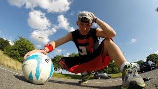 Insane Mike Football Flips Freestyle Football