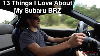13 Things I Love About My Subaru BRZ