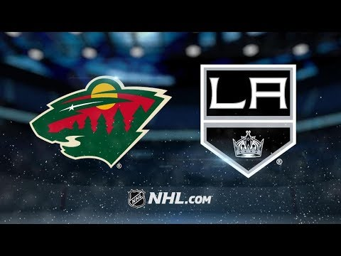 Minnesota Wild vs Los Angeles Kings | Nov.8, 2018 | Game Highlights | NHL 2018/19 | Обзор Матча