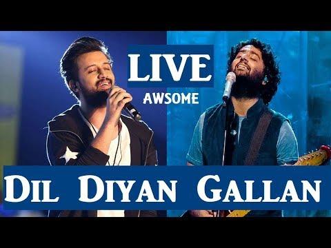Dil Diyan Gallan - Live | Arijit Singh | Atif aslam | Tiger Zinda Hai | Chandigarh