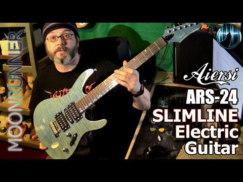 Aiersi ARS-24 Slimline Guitar Review