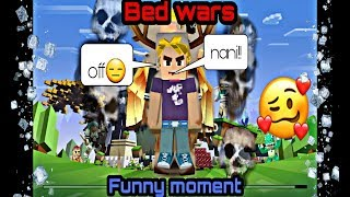 Funny moment,,TROLL,,😋😋(Bed wars)!!🤣🤣