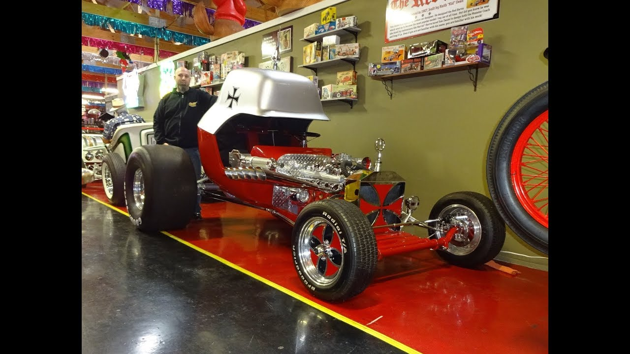 full size red baron monogram model hot wheels   volo auto museum on my car story with lou