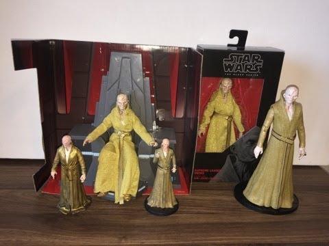 Star Wars action figure overview: Supreme Leader Snoke