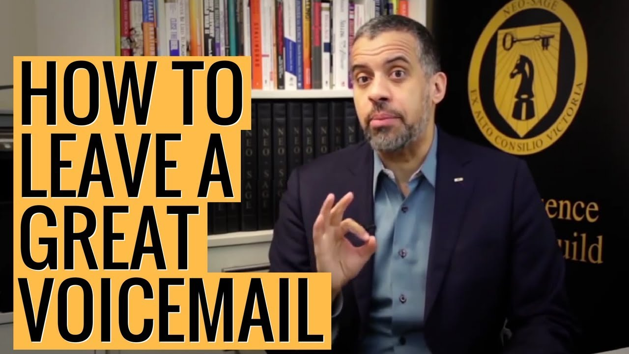 How To Leave A Great Voicemail Youtube