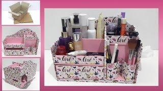 DIY Cosmetic Storage
