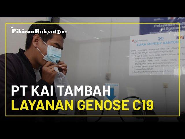 Mulai Hari Ini, PT KAI Tambah Layanan Tes Covid-19 dengan GeNose C19 di Empat Stasiun Pulau Jawa