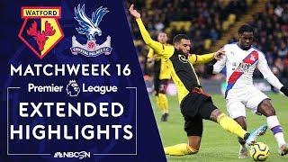 Watford v. Crystal Palace   PREMIER LEAGUE HIGHLIGHTS   12/07/19   NBC Sports