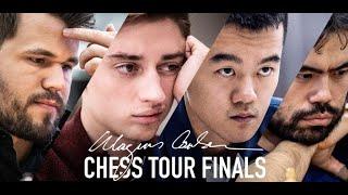 اليوم انطلاق بطولة - Magnus Carlsen Chess Tour Finals benefiting Kiva