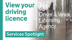 View your driving licence on GOV.UK