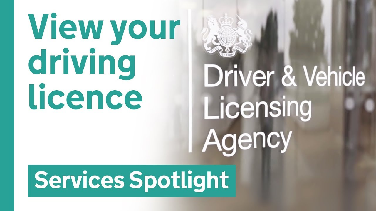 A new way to view your driving licence info online