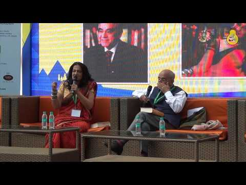 KSLITFEST 2018-  Day1: Kama: The Riddle of Desire by Gurcharan Das | Seema Anand