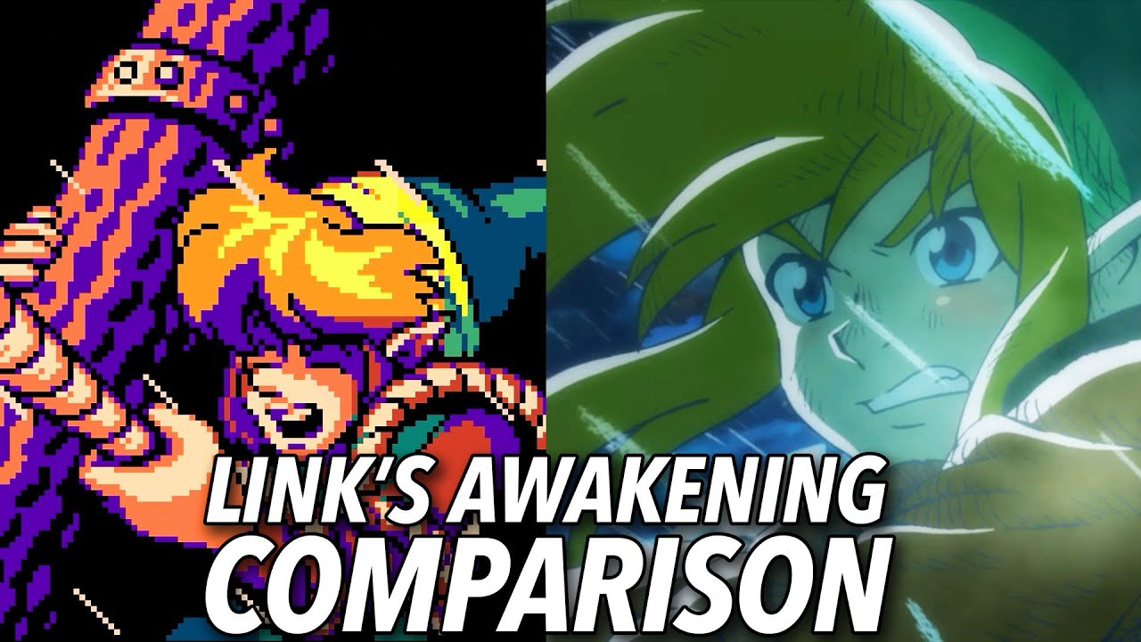 The Legend of Zelda: Link's Awakening Graphics Comparison thumbnail