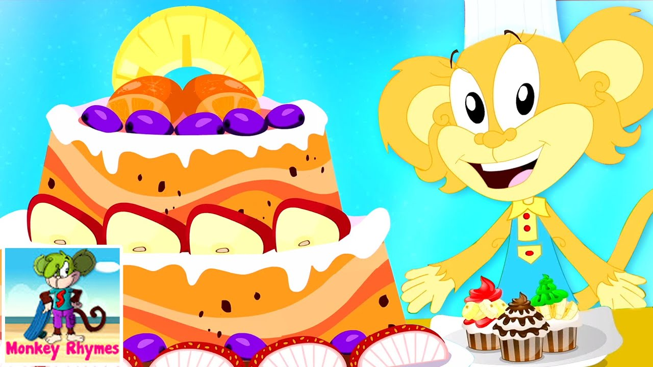 Pat A Cake Baker's Man Song   Cake Song   Songs For Kids and Children   Nursery Rhymes and Baby Song