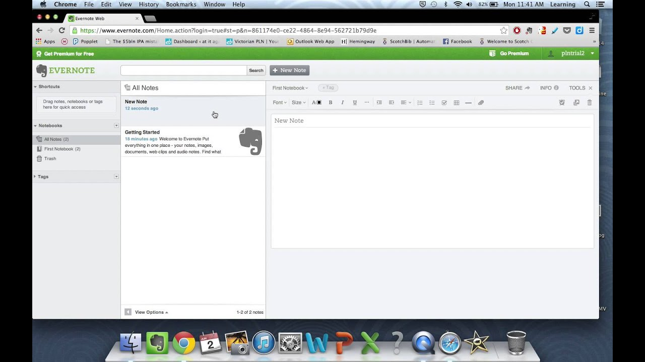 Evernote: Create & share notes and organise your library