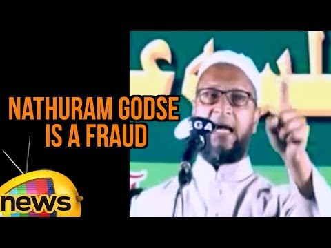 Asaduddin Owaisi Says Nathuram Godse Is A Fraud Who Assassinated Mahatma Gandhi | Mango News