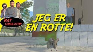 JEG ER EN ROTTE! - Rat Simulator Dansk Ep 1