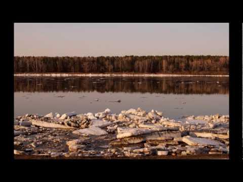 В Сургуте можно наблюдать ледоход, не выходя из дома (ВИДЕО)