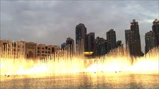 Burj Khalifa Fountain Light Shows in Dubai 2016