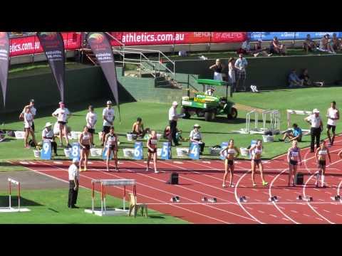 100MH Sally Pearson 12.59 Australian Championships 2015