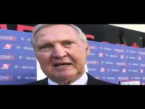 Former Laker Jerry West on he and Tex Winter getting inducted to college basketball hall of fame
