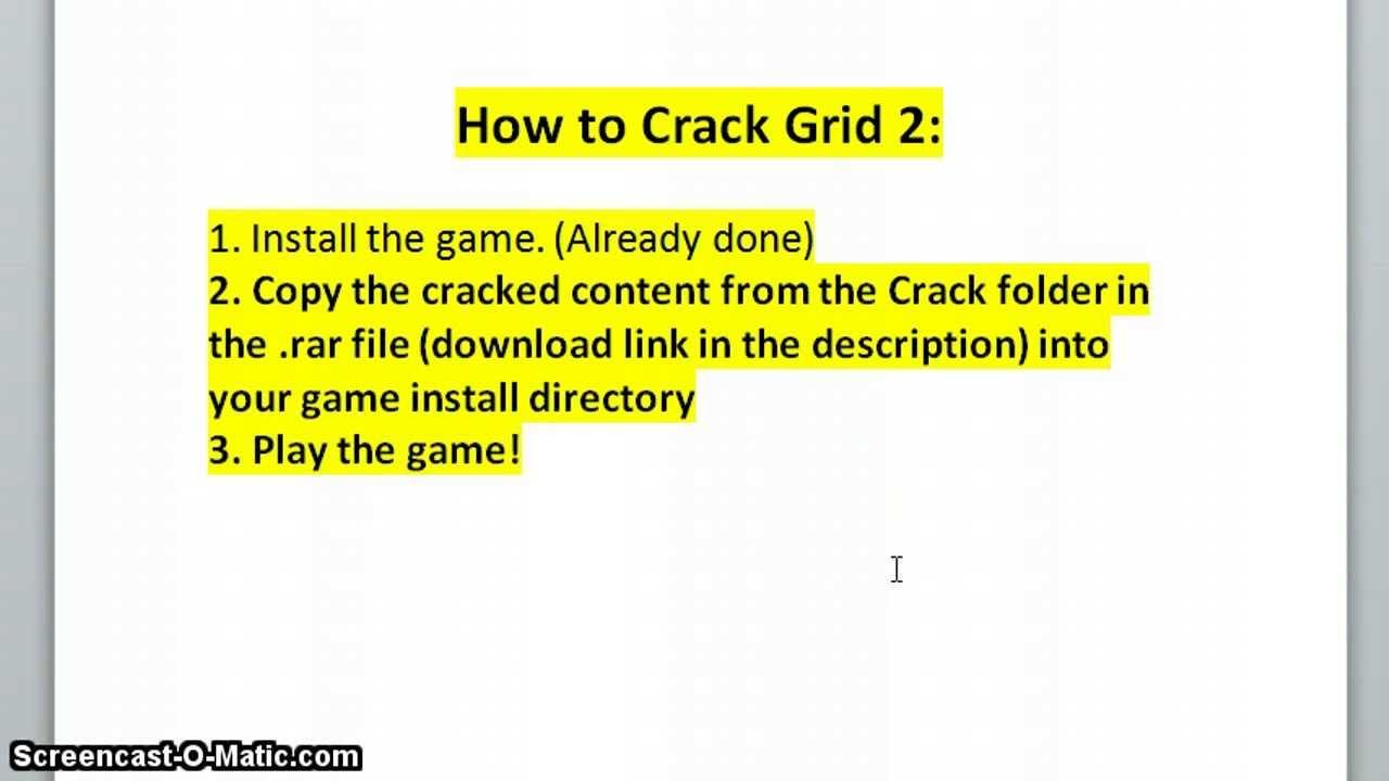 grid 2 crack download