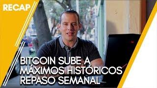 Bitcoin sigue subiendo, Bitcoin cash en maximos historicos, acciones bajan thumbnail