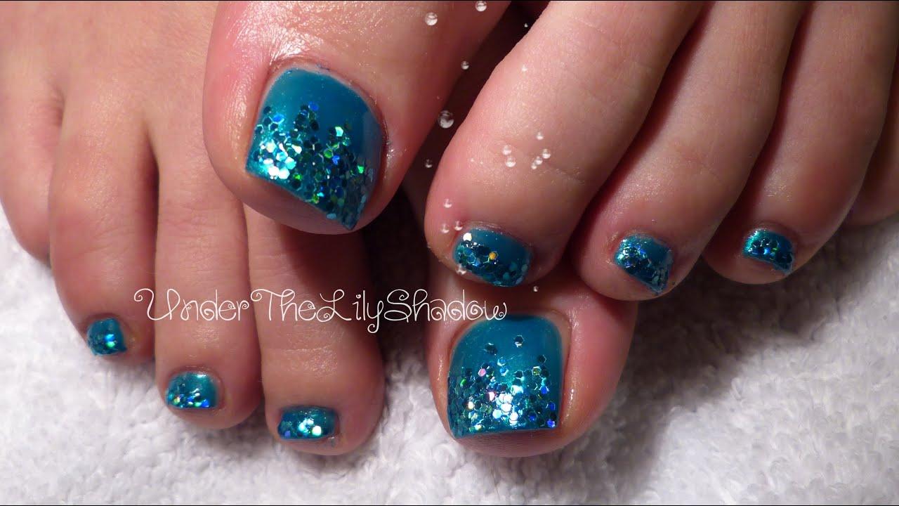 ❂⚜ Mermaid Toe nails - long lasting polish ⚜❂ - YouTube
