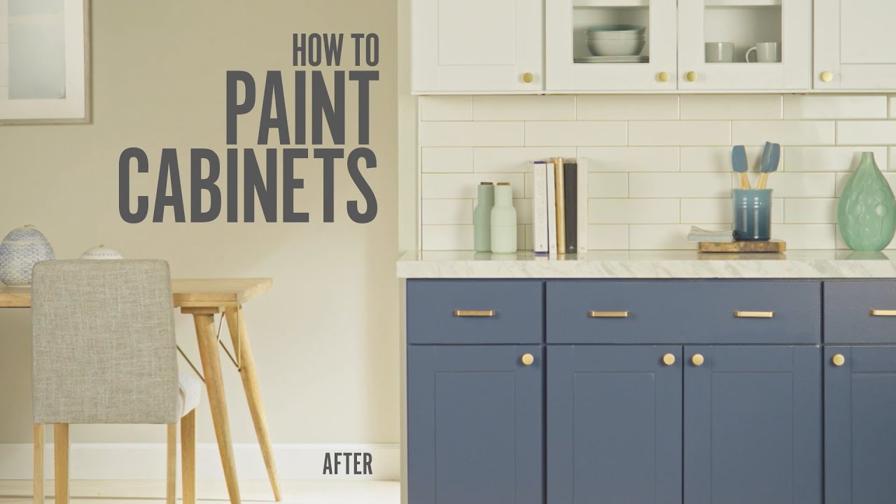 How To Paint Kitchen Cabinets Expert Painting Advice Behr