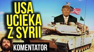 Wojska USA Wychodzą z Syrii - Rosja Wygrała - Izrael Kurdowie w Panice Analiza Komentator Pieniądze