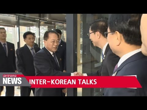 Two Koreas meet for talks over North's PyeongChang Winter Olympics participation