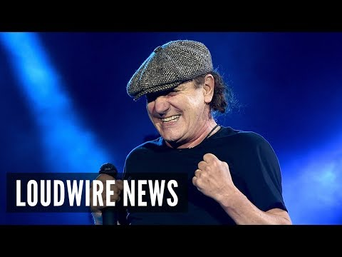 Report: Brian Johnson to Tour With AC/DC
