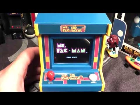 Ms. Pac-Man Mini Arcade By Basic Fun Gameplay Only