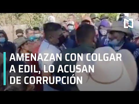 Amenazan con colgar a edil para que renuncie por corrupción - Las Noticias